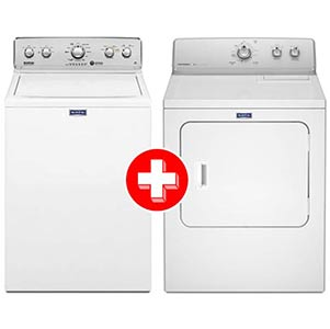 Maytag 4.2 Cu. Ft. Top-Load Washer + 7.0 Cu. Ft. Electric Dryer