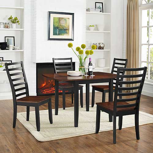 Powell Kendall 5-Piece Drop-leaf Dining Set- Room VIew