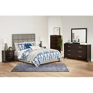 Signature Design by Ashley Agella 8-piece Queen Bedroom Group- Room View