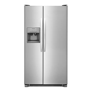 Frigidaire Stainless 22 Cu. Ft. Side-by-Side Refrigerator
