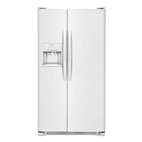 Frigidaire White 22 Cu. Ft. Side-by-Side Refrigerator