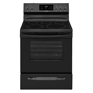 Frigidaire Black 5.3 Cu. Ft. Smooth-Top Electric Range