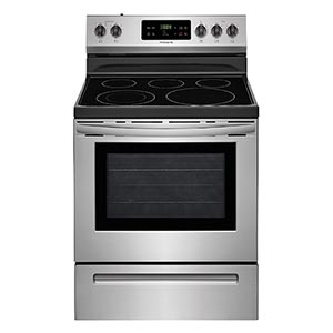 Frigidaire Stainless 53 Cu Ft Smooth Top Electric Range