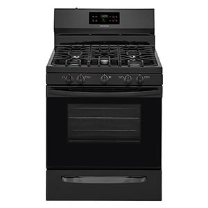 Frigidaire Black 5.0 Cu. Ft. Gas Range