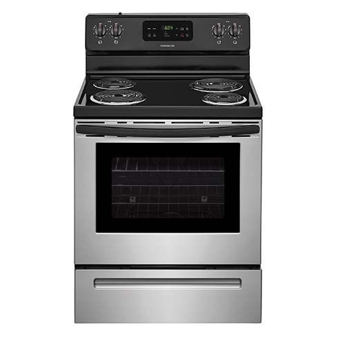 Frigidaire Stainless 5.3 Cu. Ft. Coil-Top Electric Range