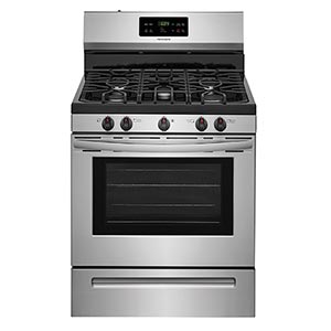 Frigidaire Stainless 5.0 Cu. Ft. Gas Range