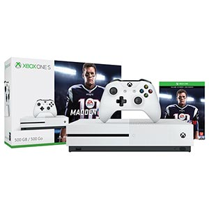 Microsoft Xbox One S 500GB- Madden NFL Bundle- Console