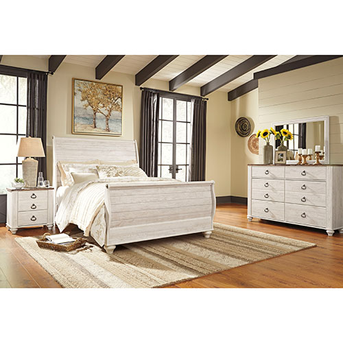 Ashley Willowton 6-Piece Queen Bedroom Set for Rent - No ...