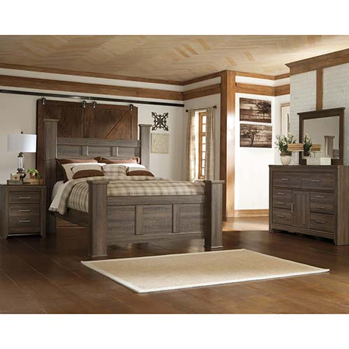 Rent To Own Ashley Juararo 6-Piece Queen Bedroom Set