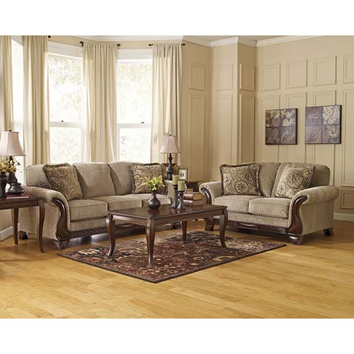 Ashley Furniture Discount Store: Ashley 'Lanett-Barley' Sofa And Loveseat For Rent
