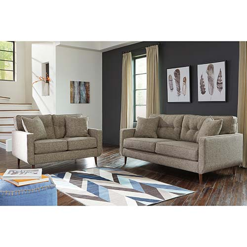 Benchcraft Dahra Jute Sofa And Loveseat