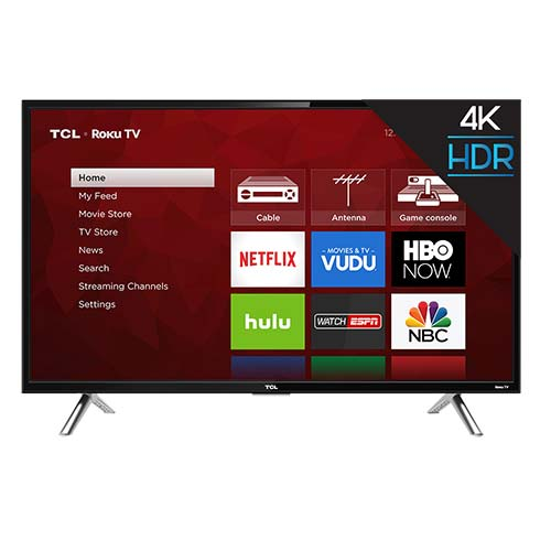 TCL ROKU 49 inch 4K UHD LED Smart TV 49S405