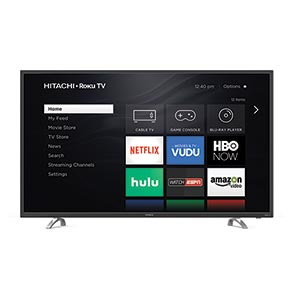Hitachi ROKU 60 inch 4K UHD LED Smart TV 60R70