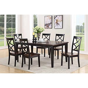 "Steve Silver ""Rani"" 7-Piece Dining Room Set- Room View"