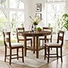 Powell Woodburn 5-Piece Counter Height Dining Set- Room View