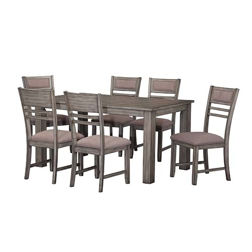 "Rent Dining Room Table Model Rent Standard ""mill Creek"" 7Piece Dining Room Set"