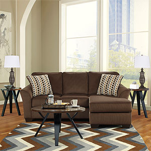 Signature Design by Ashley Geordie-Ingel 6-Piece Living Room Set- Room View