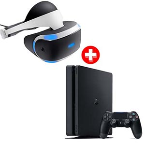Sony PlayStation VR Gaming System + Sony PS4 Slim Console