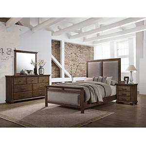Simmons Carlton 6-Piece Queen Bedroom Set- Room View