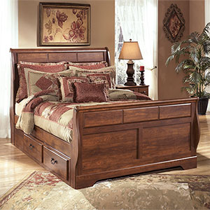 Signature Design by Ashley Timberline 6-Piece Bedroom Set- Room View