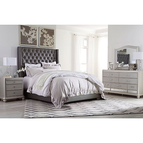 """Ashley Furniture Stores Locations: Ashley """"Coralayne"""" 6-Piece Queen Bedroom Set For Rent"""