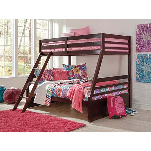 Rent To Own Ashley Halanton Twin Full Bunk Bed Set