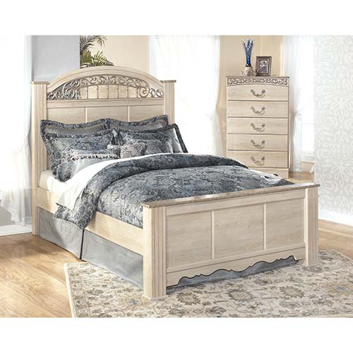 Signature Design by Ashley Catalina 3-Piece Queen Bedroom Set- Room View