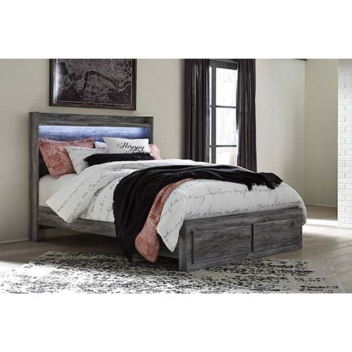 Ashley Quot Baystorm Quot Platform Platform Queen Bed
