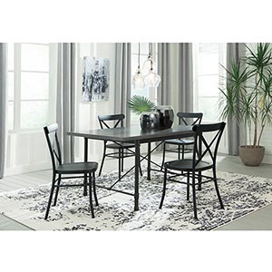 Signature Design by Ashley Minnona 5-Piece Dining Set- Room View
