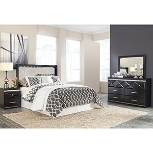 Signature Design by Ashley Fancee 4-Piece Queen Bedroom Set- Room View