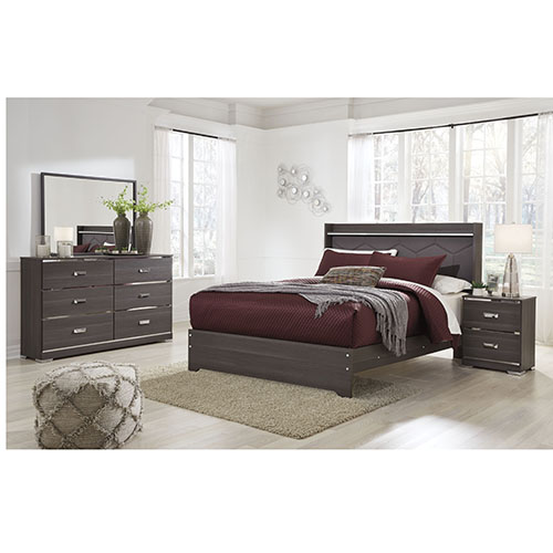 Signature Design by Ashley Annikus 6-Piece Queen Bedroom Set- Room View