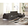 Signature Design by Ashley Tindell-Gray Sofa Sectional with Chaise- Room View