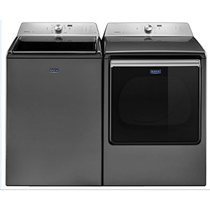 Maytag 5.2 Cu. Ft. Washer with Agitator and 8.8 Cu. Ft. Electric Dryer