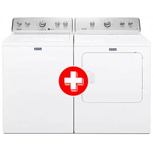 Maytag 4.2 Cu. Ft. Washer and 7.0 Cu. Ft. Electric Dryer