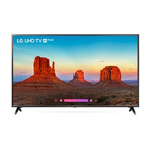 LG 65 inch 4K UHD LED Smart TV 65UK6300PUE