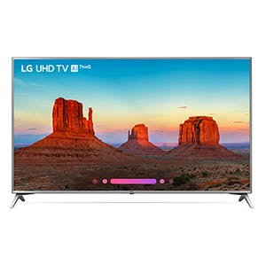 LG 75 inch 4K UHD LED Smart TV 75UK6570PUB