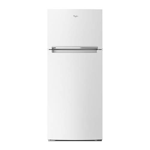 Whirlpool White 18 Cu. Ft. Top-Freezer Refrigerator