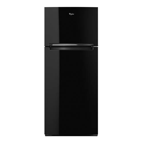 Whirlpool Black 18 Cu. Ft. Top-Freezer Refrigerator