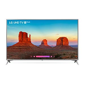 LG 70 inch 4K UHD LED Smart TV 70UK6570PUB