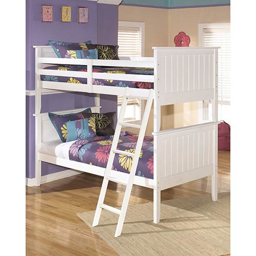 Signature Design by Ashley Lulu Twin over Twin Bunk Bed- Room View