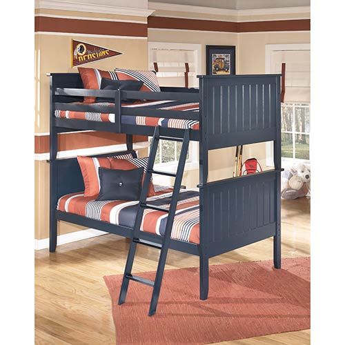 Rent Signature Design By Ashley Leo Twin Over Twin Bunk Bed
