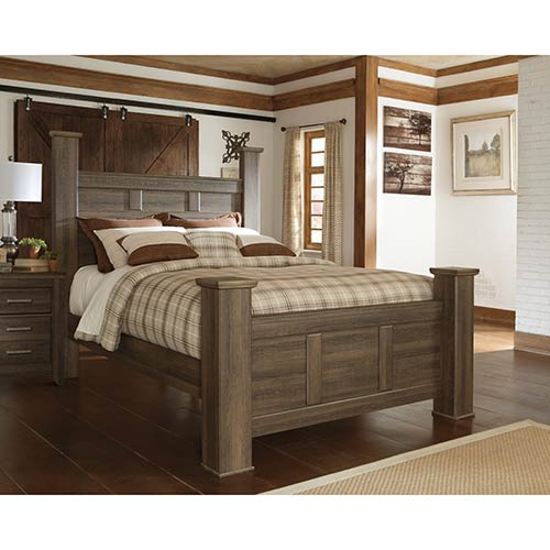 Rent Signature Design By Ashley Juararo 4 Piece Queen Bedroom Set