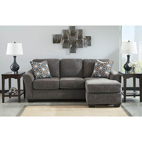 Rent to Own Benchcraft Brise-Slate Sofa Chaise