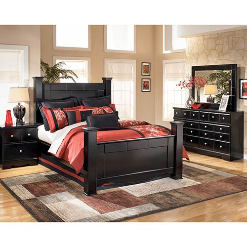 Rent Signature Design by Ashley Shay 6-Piece Queen Bedroom Set