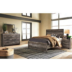 Signature Design By Ashley Wynnlow 5 Piece Queen Bedroom Set Room View