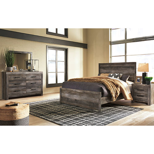 Rent Signature Design By Ashley Wynnlow 5 Piece King Bedroom Set