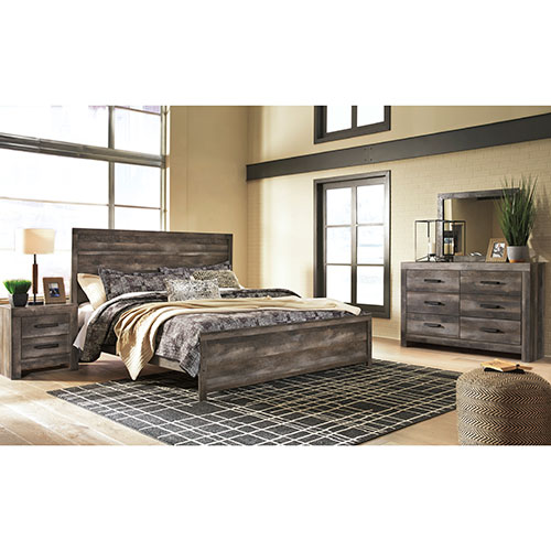 Rent Signature Design by Ashley Wynnlow 5-Piece King Bedroom Set