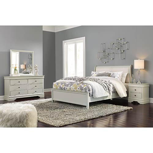 Signature Design by Ashley Jorstad 6-Piece Queen Bedroom Set- Room View