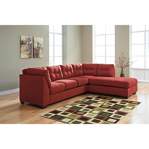 Benchcraft Maier-Sienna 2-Piece Sectional- Room View