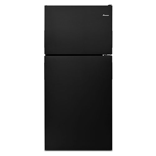 Amana Black 18 Cu. Ft. Top-Freezer Refrigerator